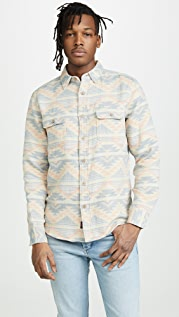 Faherty Long Sleeve Belmar Shirt