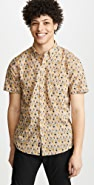 Faherty Short Sleeve Pacific Shirt