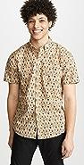 Faherty Short Sleeve Pacific Shirt