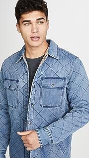 Faherty Reversible Bondi Shirt Jacket