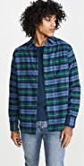 Faherty Stretch Cotton Seaview Flannel Shirt