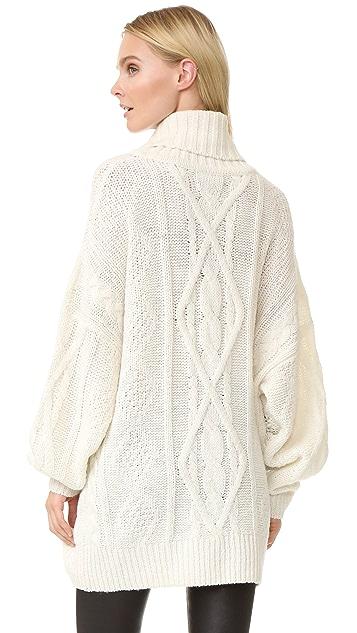 Faith Connexion Destroyed Sweater