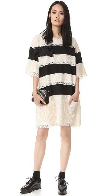 Faith Connexion Lace Fleece Dress