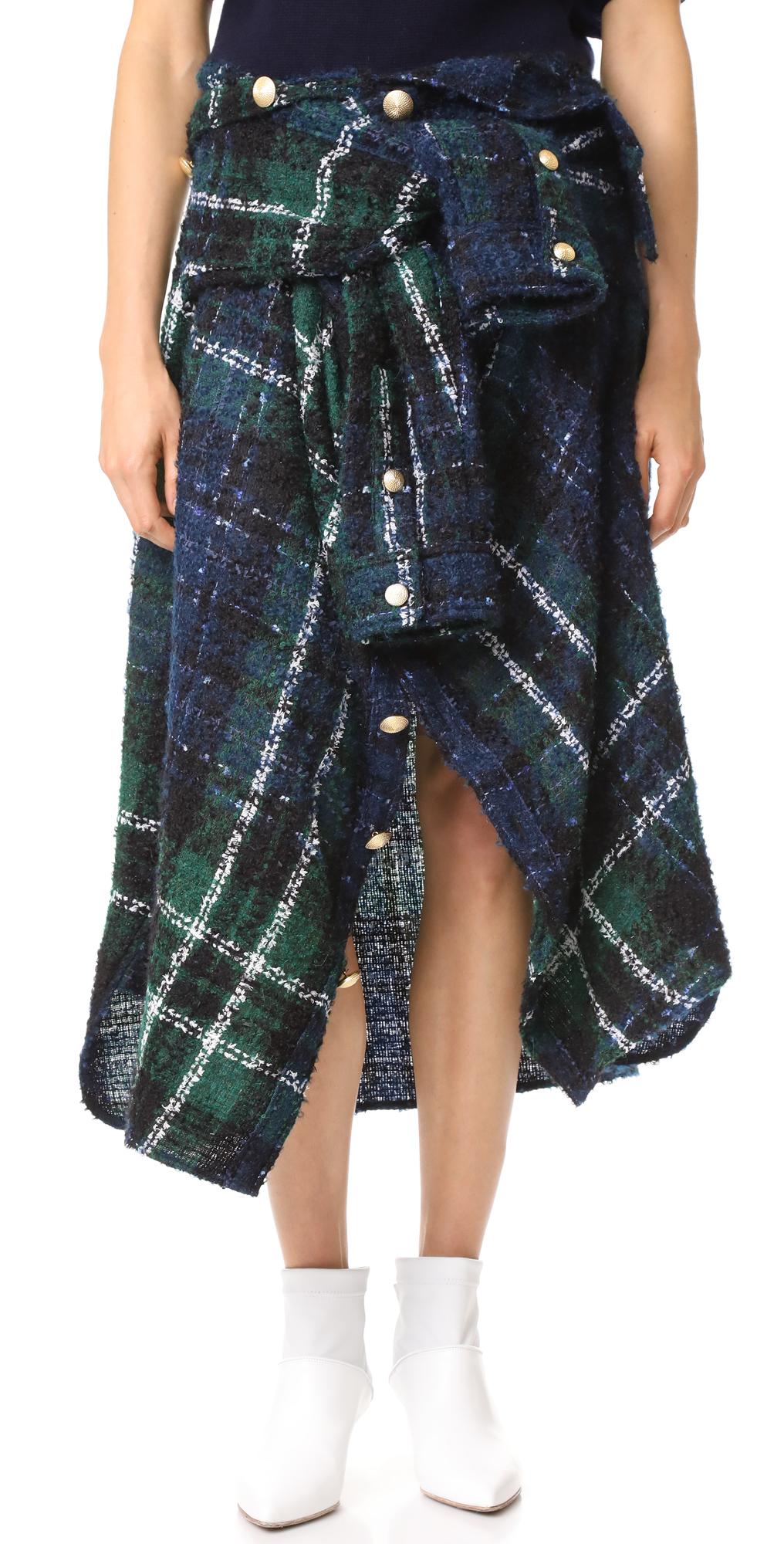 Tweed Skirt Faith Connexion