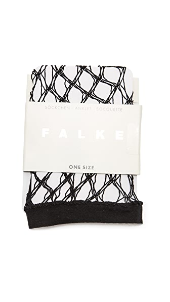 Falke Hypnotic Net Sock - Black