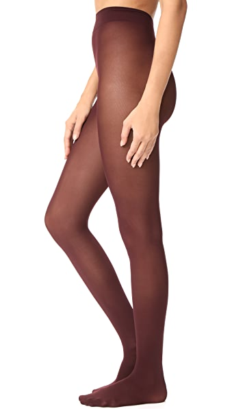 Falke Pure Matte 50 Tights - Burgundy