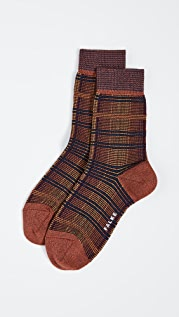 Falke Moorland Plaid Socks