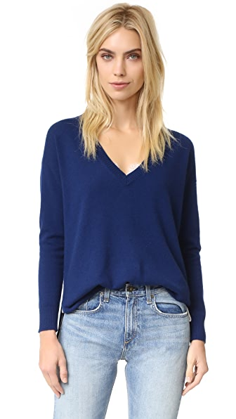 525 America Cashmere V Neck Sweater