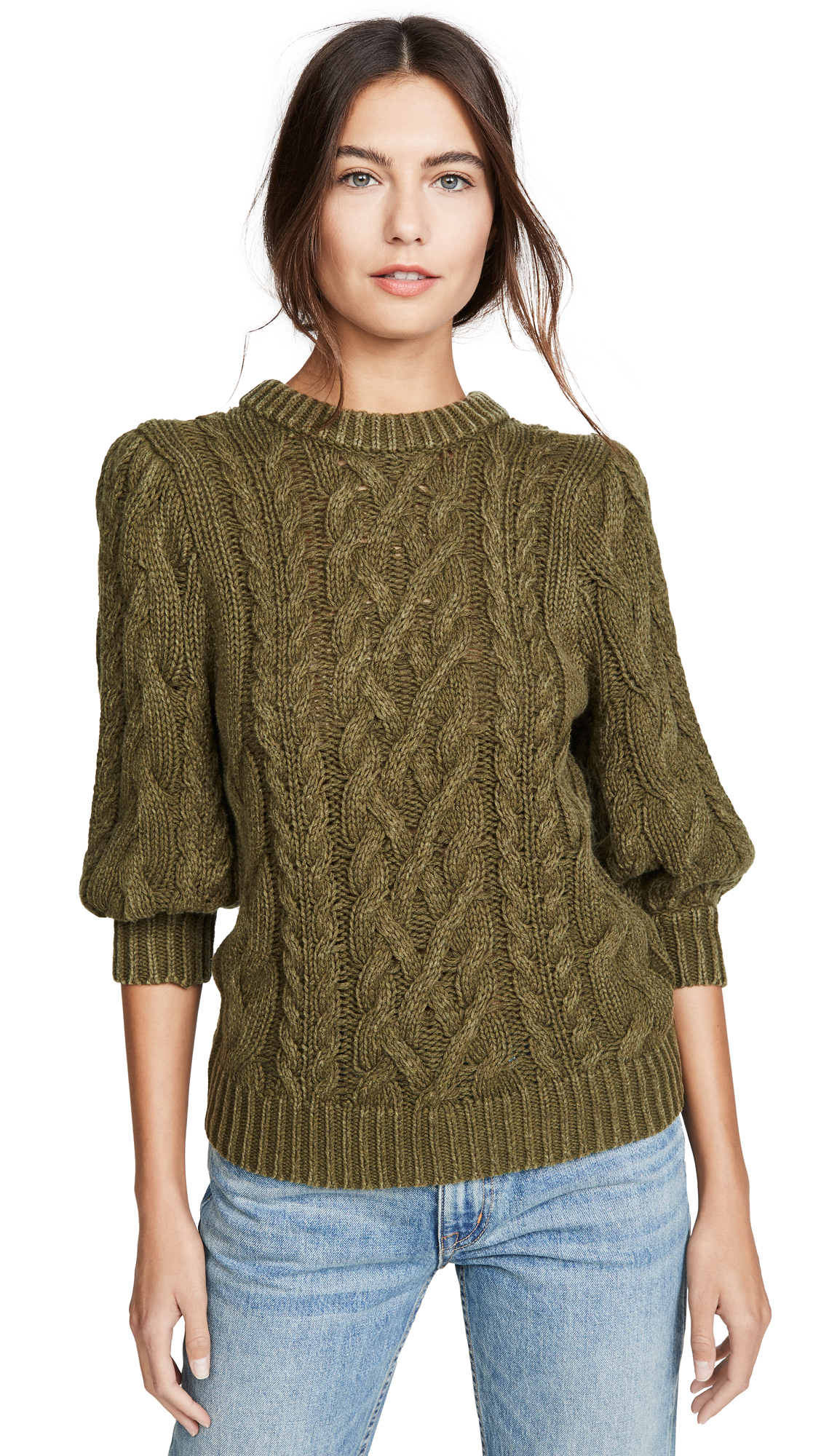 Buy  online - photo of 525 Puff Sleeve Sweater