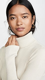 525 Ribbed Turtleneck Sweater