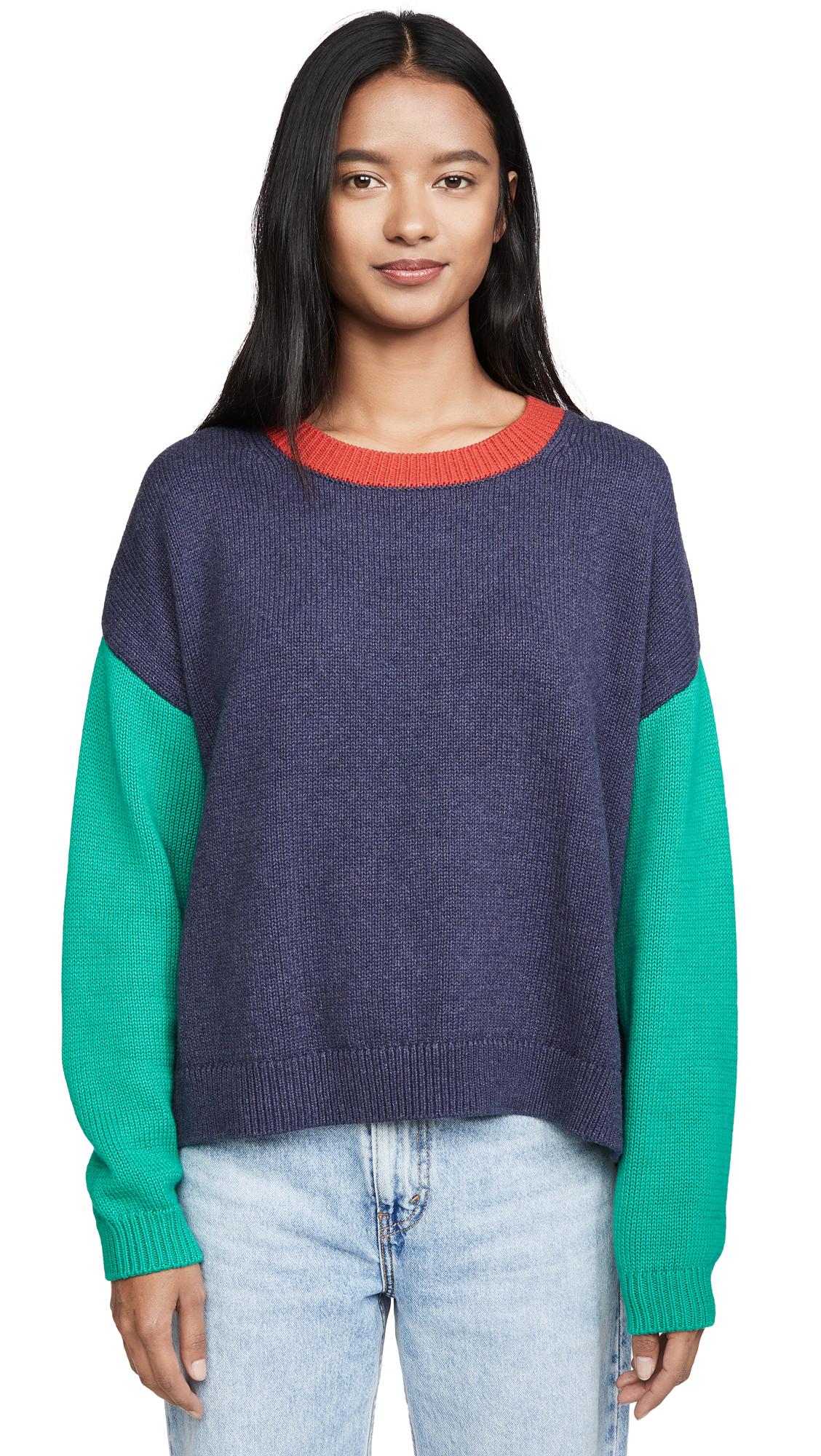 Buy  online - photo of 525 Colorblock Crew Sweater