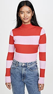 525 Rugby Stripe Pullover
