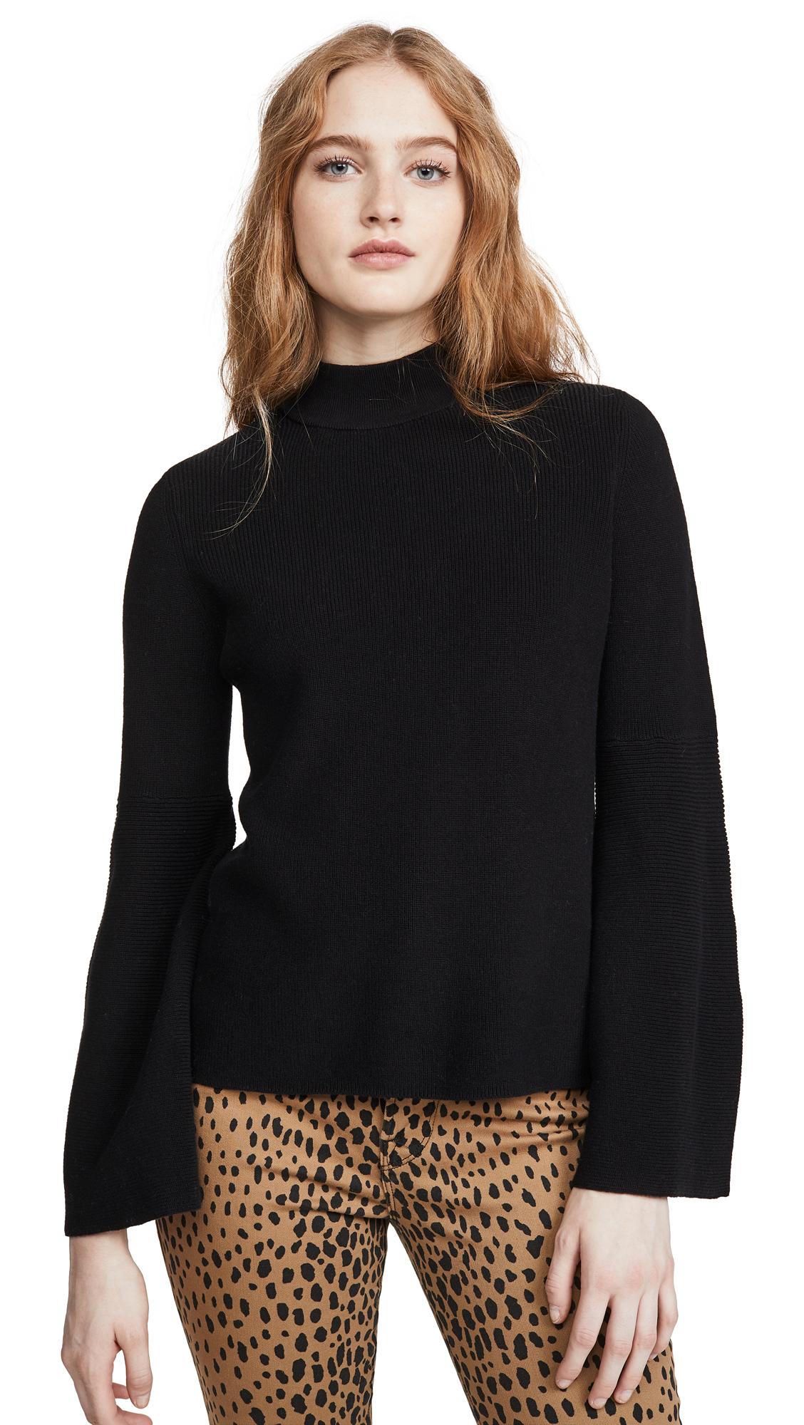 Buy  online - photo of 525 Mock Neck Shaker Sweater