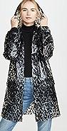 525 Leopard Rain Coat