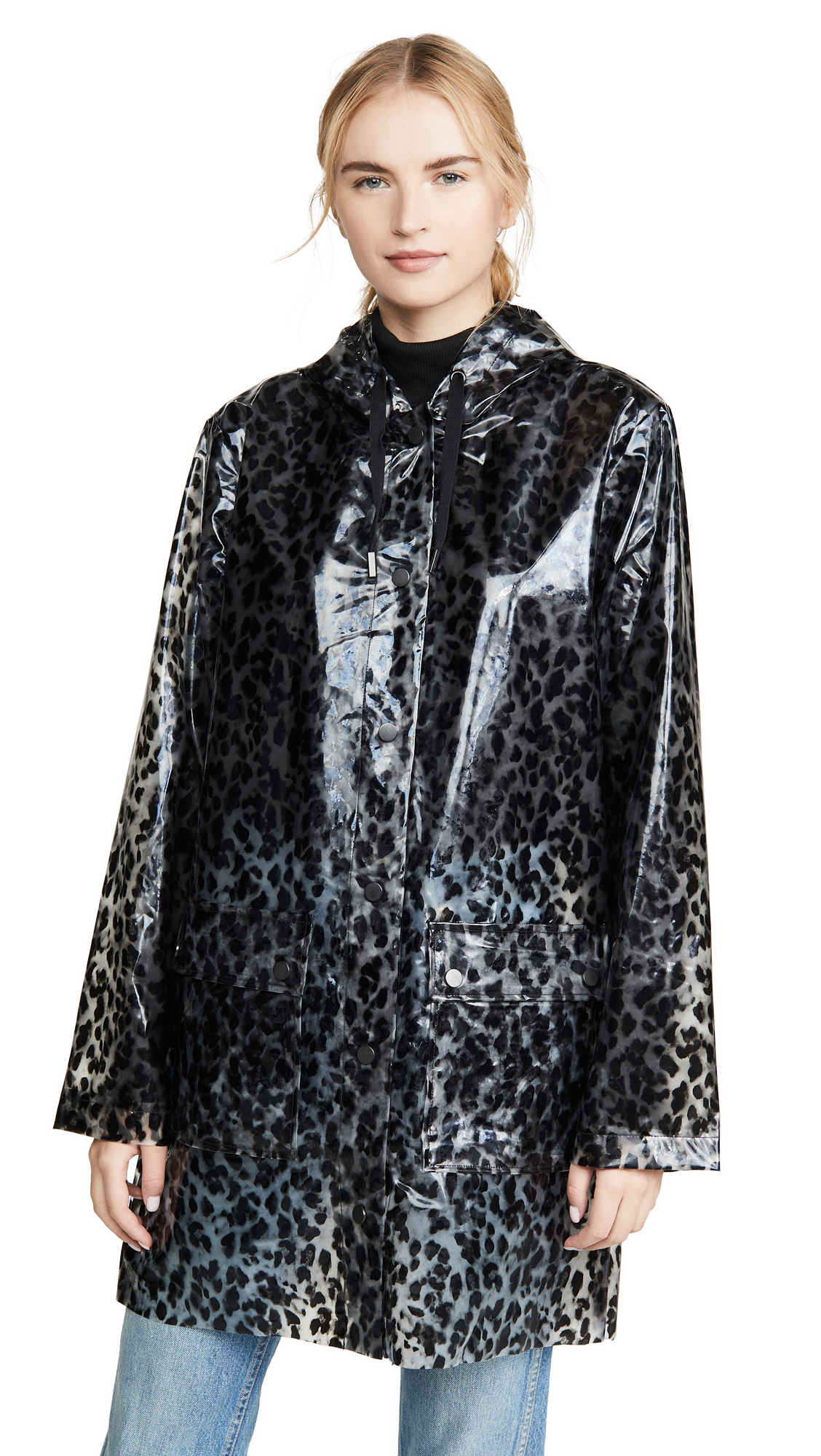 Buy 525 Leopard Rain Coat online beautiful  Jackets, Coats, Coats