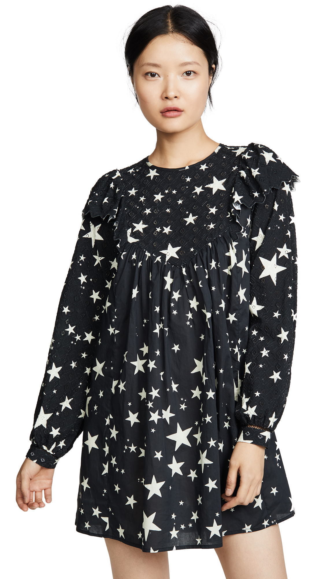 Buy FARM Rio online - photo of FARM Rio Stardust Mini Dress