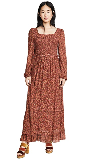FARM Rio Leopard Garden Maxi Dress