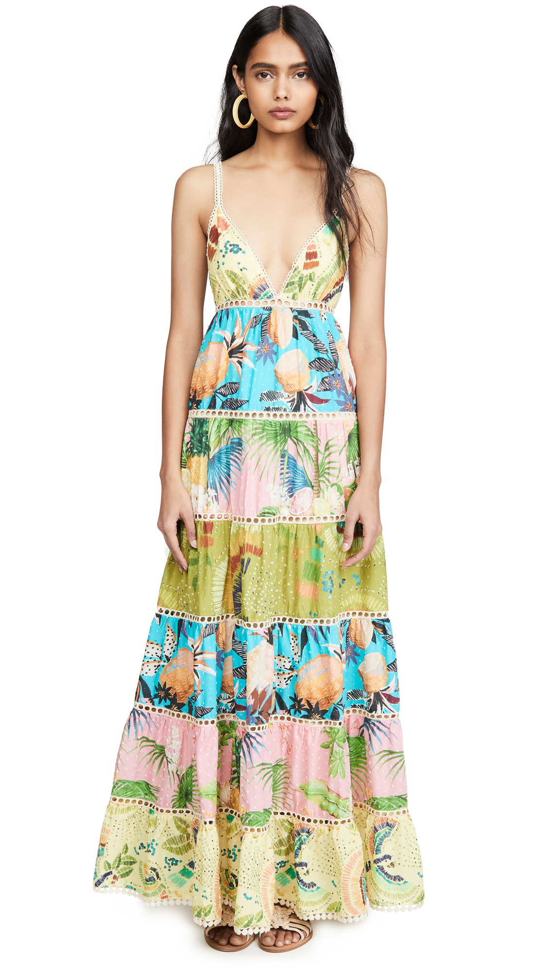 Buy FARM Rio Colorful Birds Maxi Dress online beautiful FARM Rio Clothing, Dresses