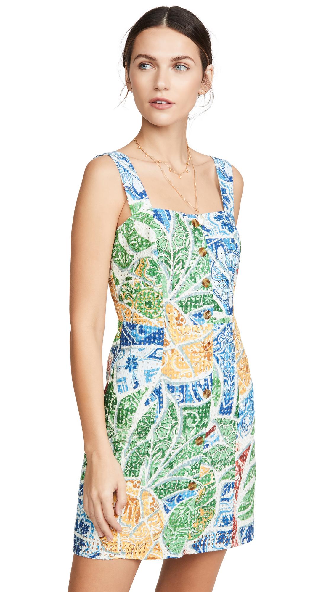 FARM Rio Tropical Tile Mini Dress - 30% Off Sale