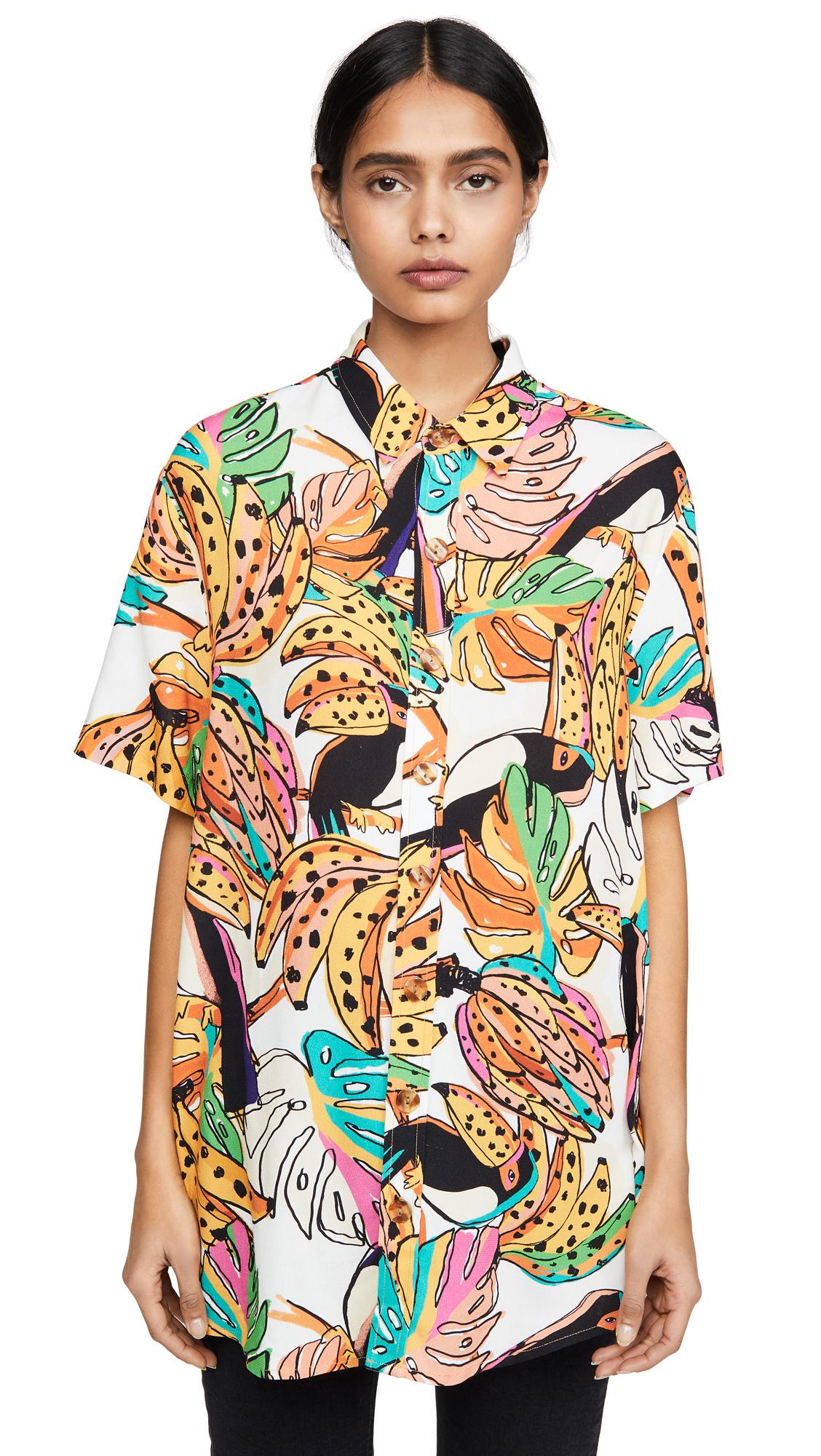 Buy FARM Rio online - photo of FARM Rio Crazy Tucanos Shirt