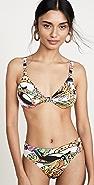 FARM Rio Crazy Tucanos Bikini Top