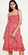 FARM Rio Red Pepper Midi Dress