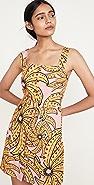 FARM Rio Banana Pitta Button Down Short Dress
