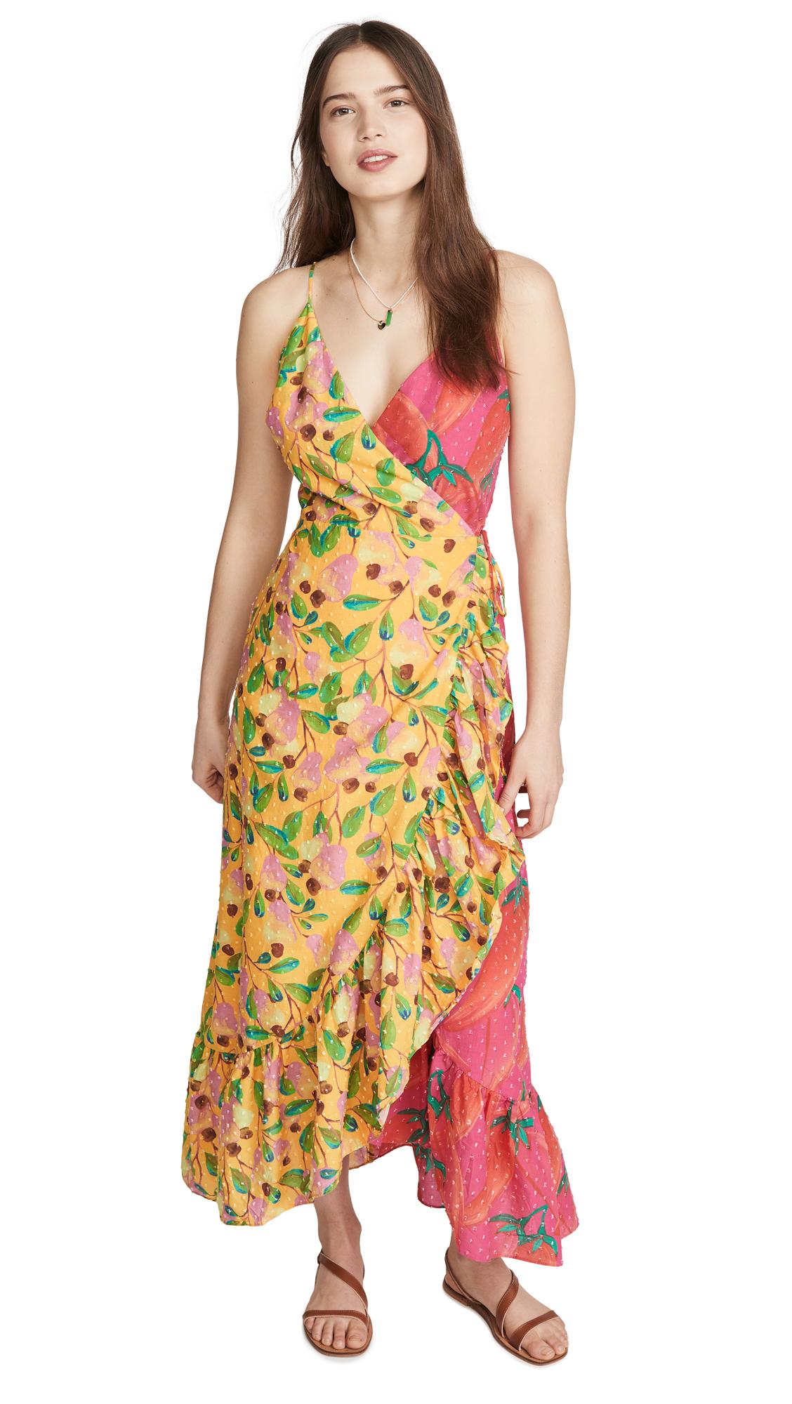 Buy FARM Rio Garden Mix Wrap Dress online beautiful FARM Rio Clothing, Dresses