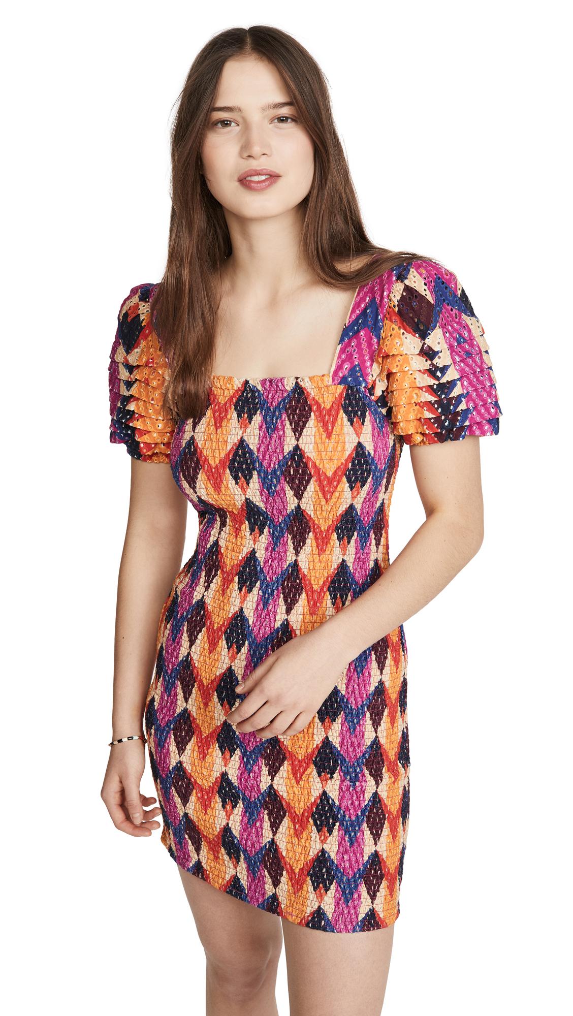 FARM Rio Lindeza Grafica Mini Dress