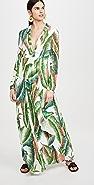 FARM Rio Forest Palm 长连衣裙