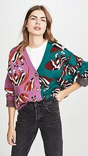 FARM Rio Dual Prints Knit Sweater