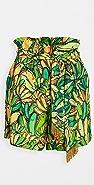 FARM Rio 绿香蕉短裤