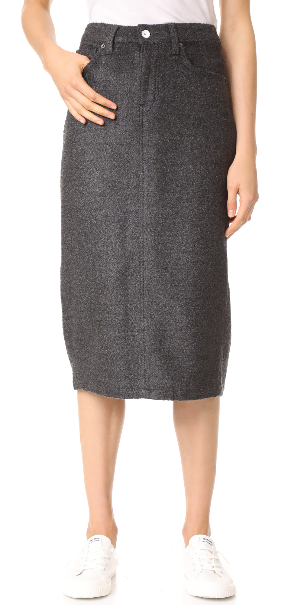 Wilcox High Rise Midi Skirt Father's Daughter