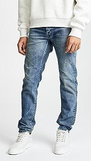 Fabric Brand & Co. Облегающие джинсы Regular