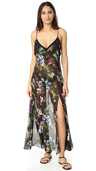 Fleur du Mal Tropical Slip Dress