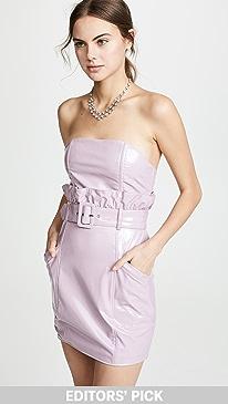 d53d1551667a0 Fleur du Mal. PVC Paperbag Dress