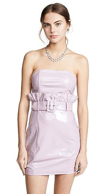 Fleur du Mal PVC Paperbag Dress