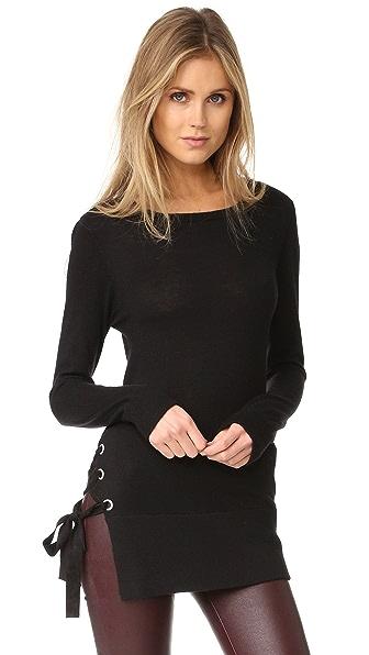 Feel The Piece Corrine Sweater - Black Velvet
