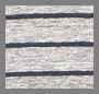 Heather Grey/Navy Stripe