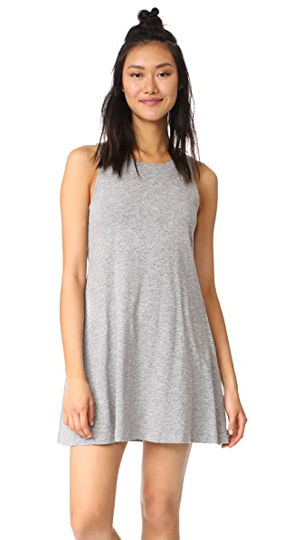 Feel The Piece Coolidge Dress - Heather Grey