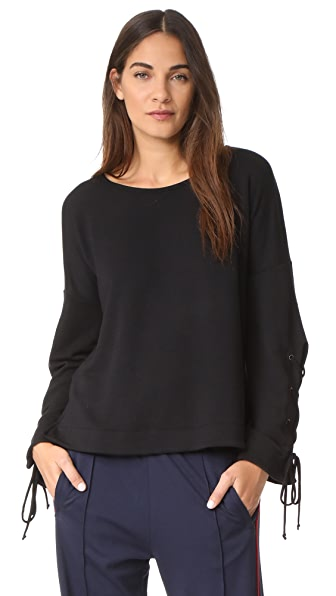Feel The Piece Aberdeen Sweatshirt In Black
