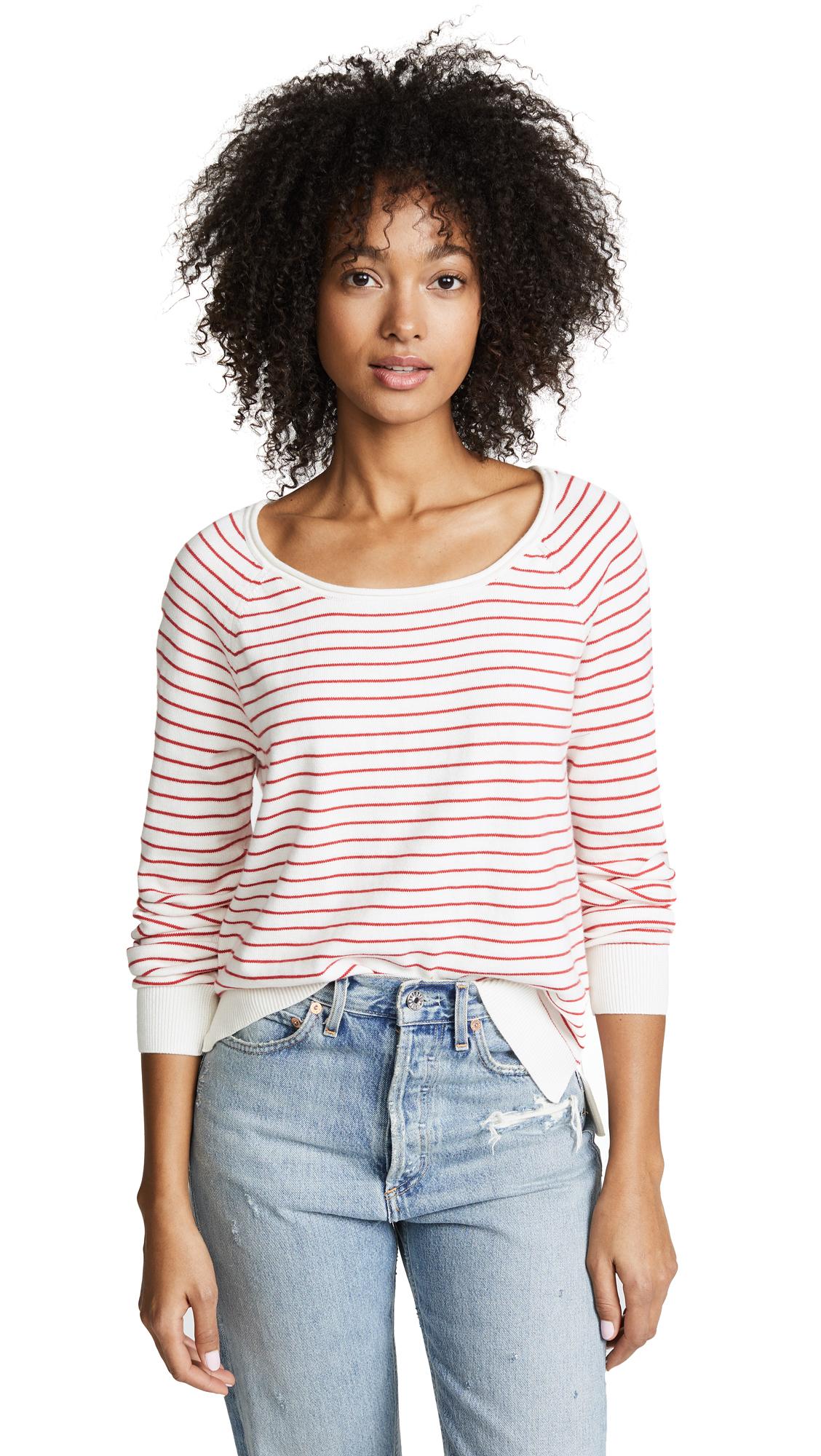 FEEL THE PIECE Nadine Stripe Sweater
