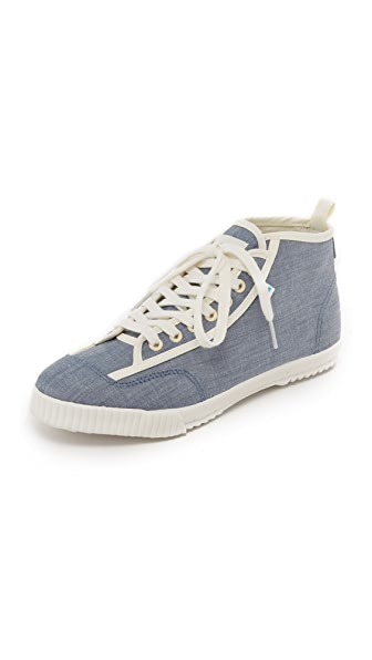 Feiyue Feiyue X Solid & Striped Candice Sneakers - Blue Chambray/Swim Textile at Shopbop
