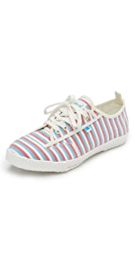 Feiyue x Solid & Striped Valerie Sneakers                Feiyue