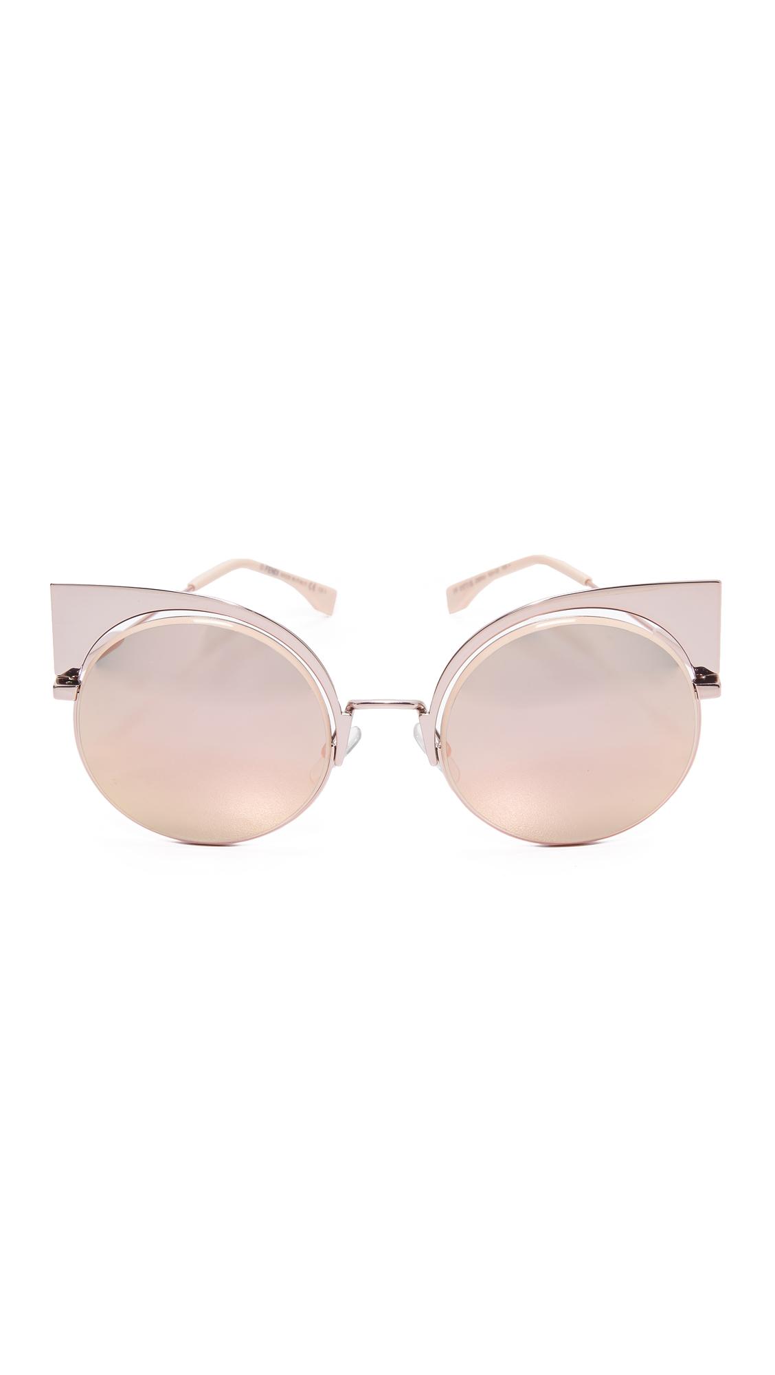 Fendi sol ojos de gato de Gafas de espejo con SwHxXx8q5