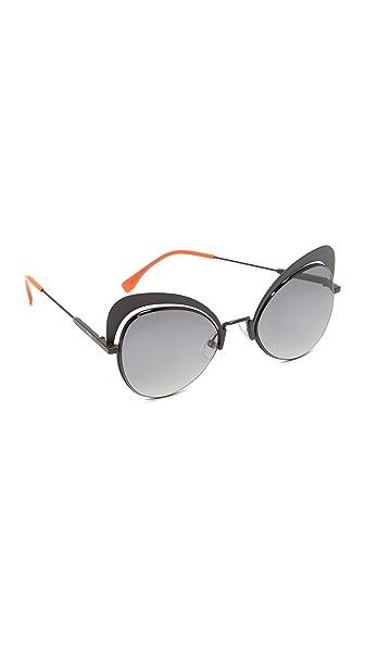 Fendi Cat Eye Sunglasses at Shopbop