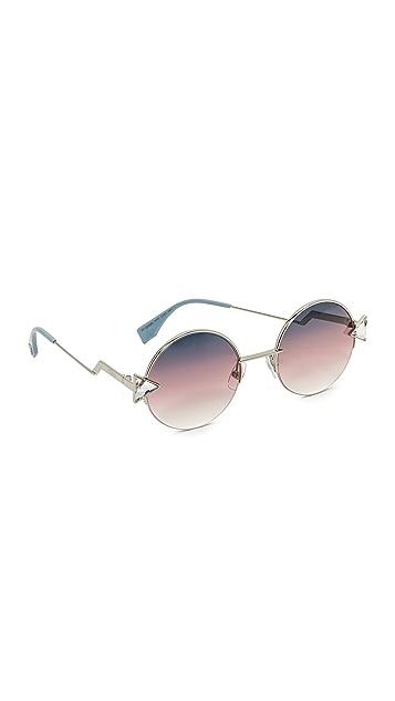 Fendi Round Sunglasses