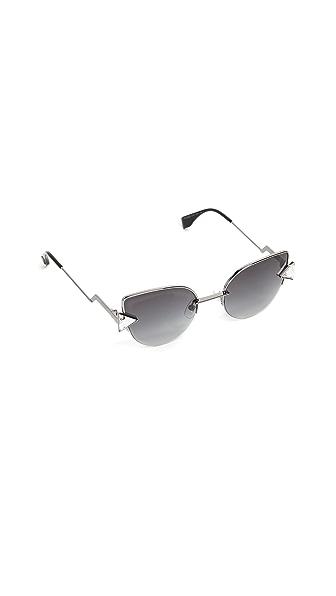 Fendi Demi Crystal Sunglasses at Shopbop