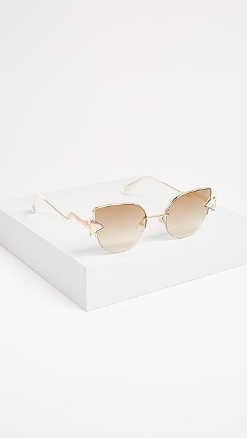 Fendi Demi Crystal Sunglasses