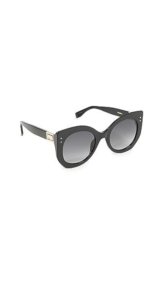 Fendi Riveted Sunglasses at Shopbop